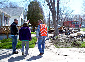 Congregations, Disaster Response help flood victims in Illinois