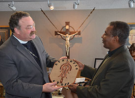 Ethiopian Lutheran leader visits LCMS to 'strengthen relationship'