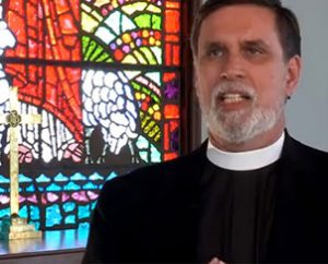 The Rev. William M. Cwirla, convention essayist and pastor at Holy Trinity Lutheran Church, Hacienda Heights, Calif., talks about the significance of Baptism in the pre-convention welcome video, now available online. (LCMS Communications)