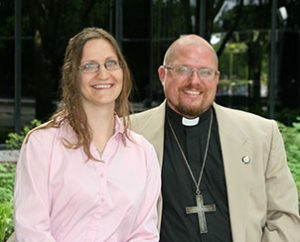"""Bethany and the Rev. Peter Haugen will serve as career missionaries in Papua New Guinea. """"Our mission is a living Word and Sacrament ministry,"""" Peter Haugen said. (LCMS Communications/Frank Kohn)"""