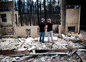 LCMS members evacuated, lose homes in Colorado wildfire