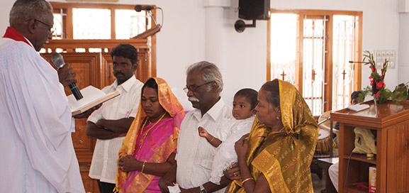 The India Evangelical Lutheran Church, a partner church of the LCMS, has some 400 congregations and more than 55,000 baptized members.