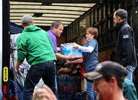 Fort Collins, Colo., congregation helps 1,200 evacuees