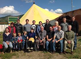LCMS leaders experience 'faithful' Siberian partners
