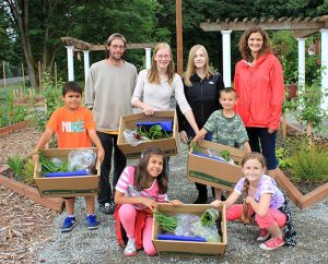 Light of Christ Lutheran Church in Federal Way, Wash., is using a Wheat Ridge Ministries grant for a community garden. Produce from the garden is shared with those in need in the community. (Light of Christ Lutheran Church)