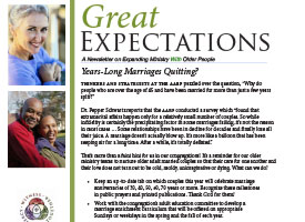 Great Expectations Newsletter – September 2013