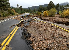 In Colorado: Disaster Response staff sees damage, offers aid