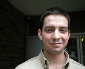 """""""Eni,"""" now 20, was two years old when he arrived in the United States from Bulgaria. He and his father were held in detention for 65 days. (LIRS/Mark Fenton)"""