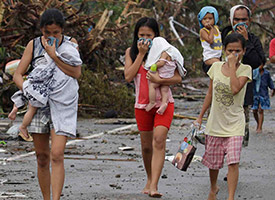Typhoon Haiyan: Images of a disaster