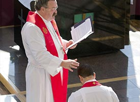 Johnson installed as director of LCMS Disaster Response
