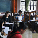 LCMS missionary Michelle Cagnin leads a microcredit loan workshop in the Philippines.
