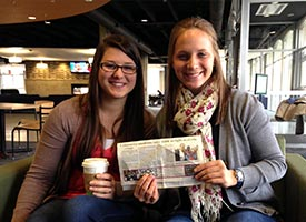 Two college students raise $50,000-plus for LMI