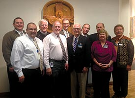 LCMS Worker-wellness groups hold first joint meeting