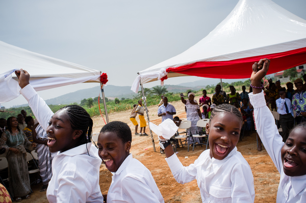 Rev. Dr . Matthew C. Harrison dedicates new seminary in Ghana
