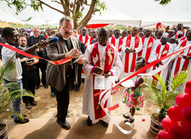 Sem dedication a dream come true for Ghana church leader