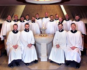The 2013-14 Kantorei, composed of seminarians from Concordia Theological Seminary, Fort Wayne, Ind., will offer a service of Easter Evening Prayer at congregations in Michigan and Indiana April 23–27.  (Concordia Theological Seminary)