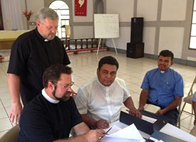 LCMS, LCC, Nicaragua Lutherans sign protocol agreement
