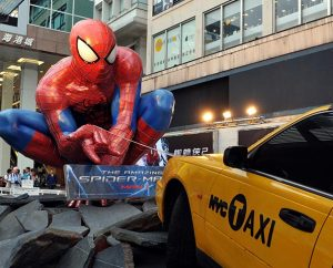 """Knowing about the Bible's David and Goliath makes watching """"The Amazing Spider-Man 2"""" more enjoyable and provides an opportunity to compare and contrast the biblical David with Marvel's Peter Parker. (lamlam — Imaginechina)"""