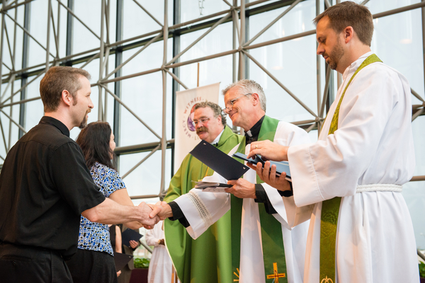 A Service of Sending for new missionaries