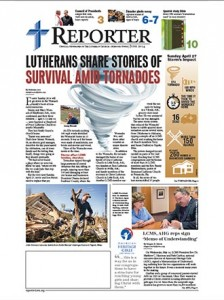 "The June 2014 issue of the redesigned ""Reporter"" has more color, graphics and photos."