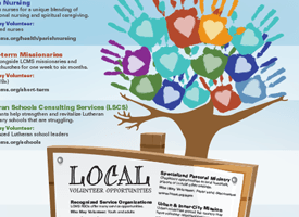 Volunteer Opportunities Infographic