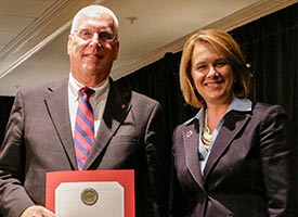 Engfehr receives Red Cross award
