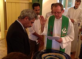 Former Muslims baptized at LCMS partner-church congregation