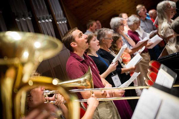 2014 Institute on Liturgy, Preaching and Church Music in Seward, Neb.