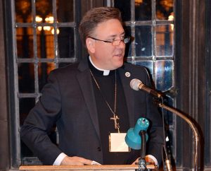 The Rev. Dr. Jon Vieker, assistant to LCMS President Rev. Dr. Matthew C. Harrison, served as the banquet speaker during the Concordia Historical Institute's annual awards event Nov. 6 at Concordia Seminary, St. Louis. (Concordia Historical Institute)