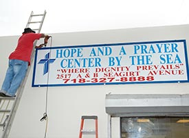 Mercy center opens in high-crime area of New York