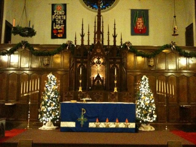 Christmas at Immanuel Lutheran, Kansas City, MO.