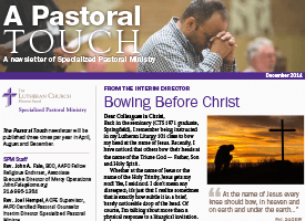A Pastoral Touch Newsletter – December 2014