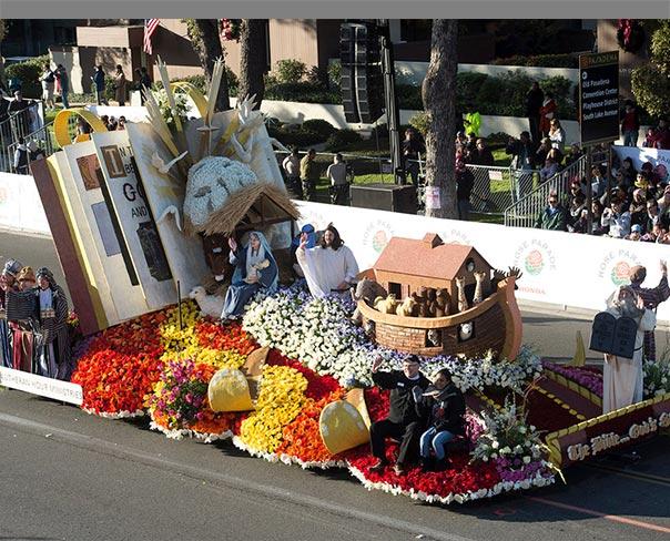 Lutheran hour float wins rose parade award for Princess float ideas