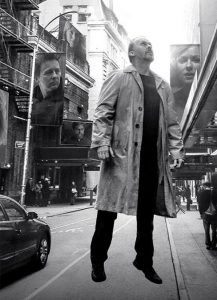 """The Oscar-winning film """"Birdman"""" is predominantly about Riggan Thomson (Michael Keaton), who is trying to restart his fading career as he struggles with depression and psychoses."""