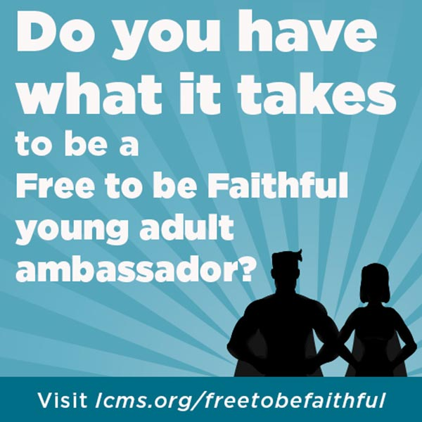 Free to be Faithful' sponsors essay contest for college students ...