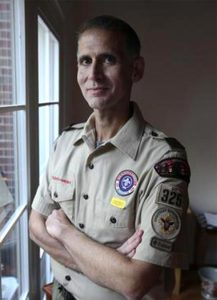 Greg Bourke, before he was forced to resign from Boy Scout leadership in 2012. (Courtesy of Sam Upshaw Jr./The Courier-Journal)