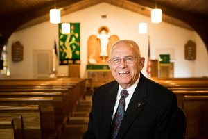 The Rev. Dr. Robert T. Kuhn, above, and several people who know him well reflect on his years as a parish pastor and leader at the district and Synod levels. (LCMS/Erik M. Lunsford)