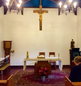 The chapel at the retreat center in Florida, Chile