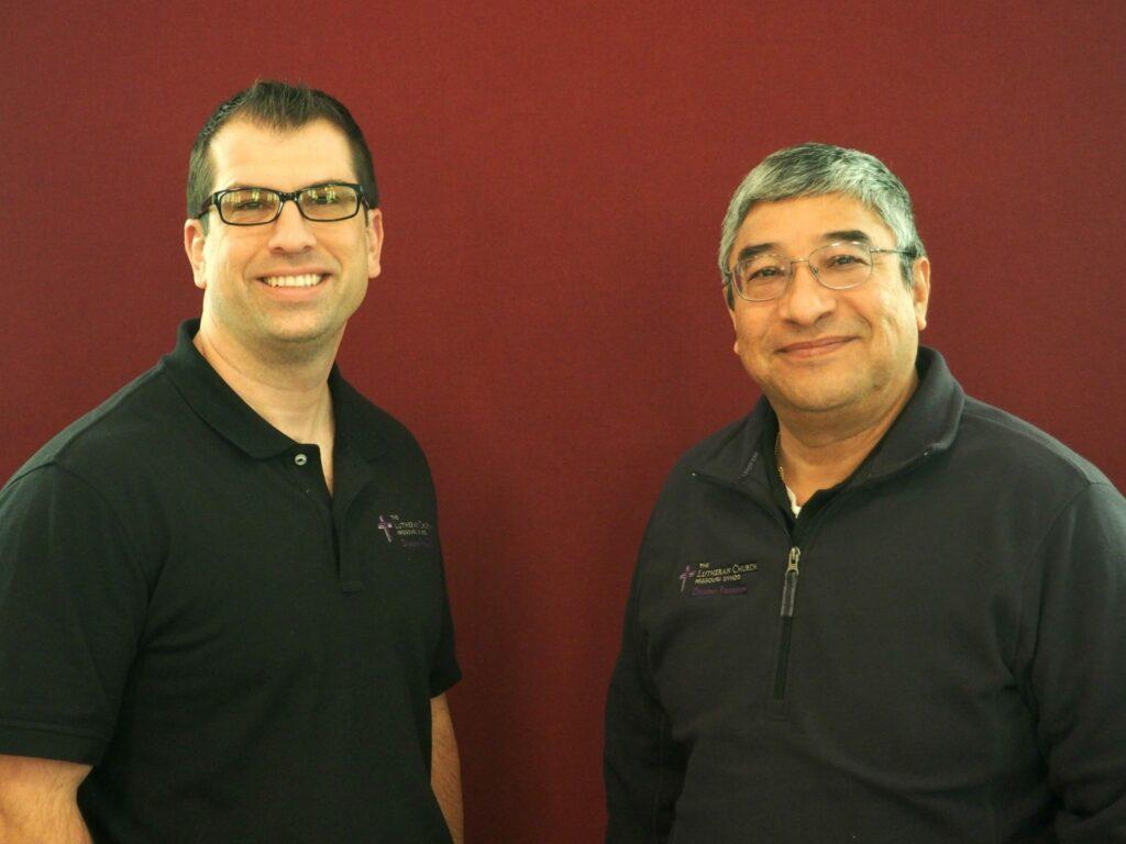 Rev. Ross johnson and Ruben Dominguez