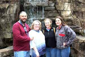 The Young family — from left, Joel, Krista, Sydney and Grace — are headed to Ethiopia, where Krista, a director of Christian education, will serve as a volunteer coordinator in partnership with the Ethiopian Evangelical Church Mekane Yesus, Africa's largest and fastest-growing Lutheran church. (Courtesy of Krista Young)