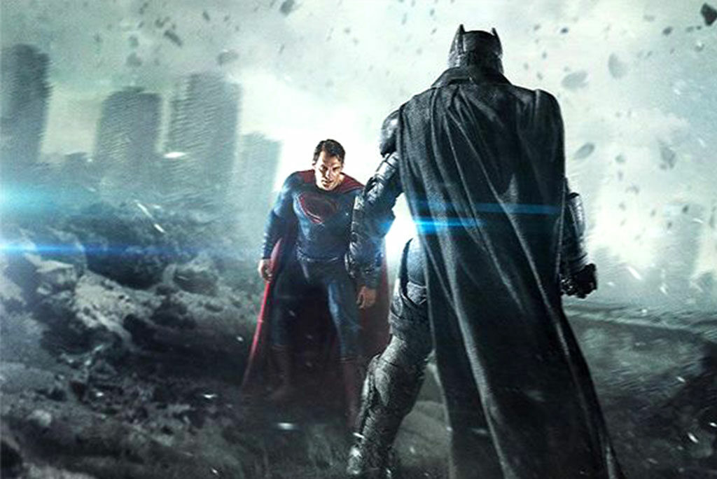 """""""Batman v Superman: Dawn of Justice"""" — starring Henry Cavill as Superman and Ben Affleck as Batman — is dark and brooding and, at 151 minutes, its pace is leisurely and deliberate."""