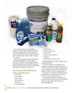 Flood Bucket list