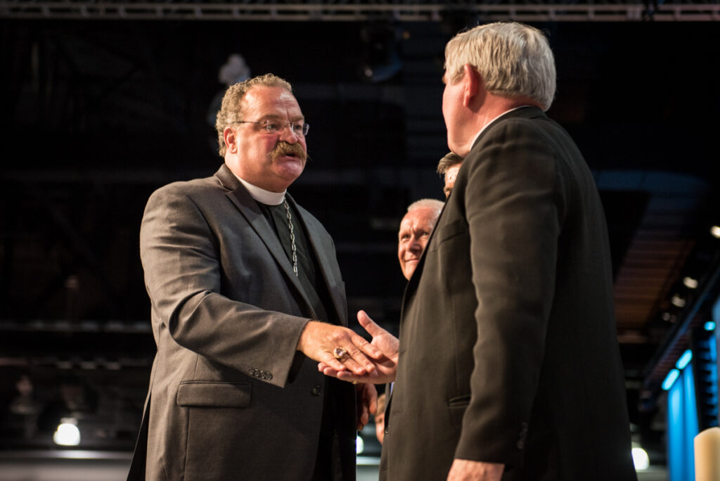Photographs on Tuesday, July 12, 2016, at the 66th Regular Convention of The Lutheran Church–Missouri Synod, in Milwaukee. LCMS/Frank Kohn