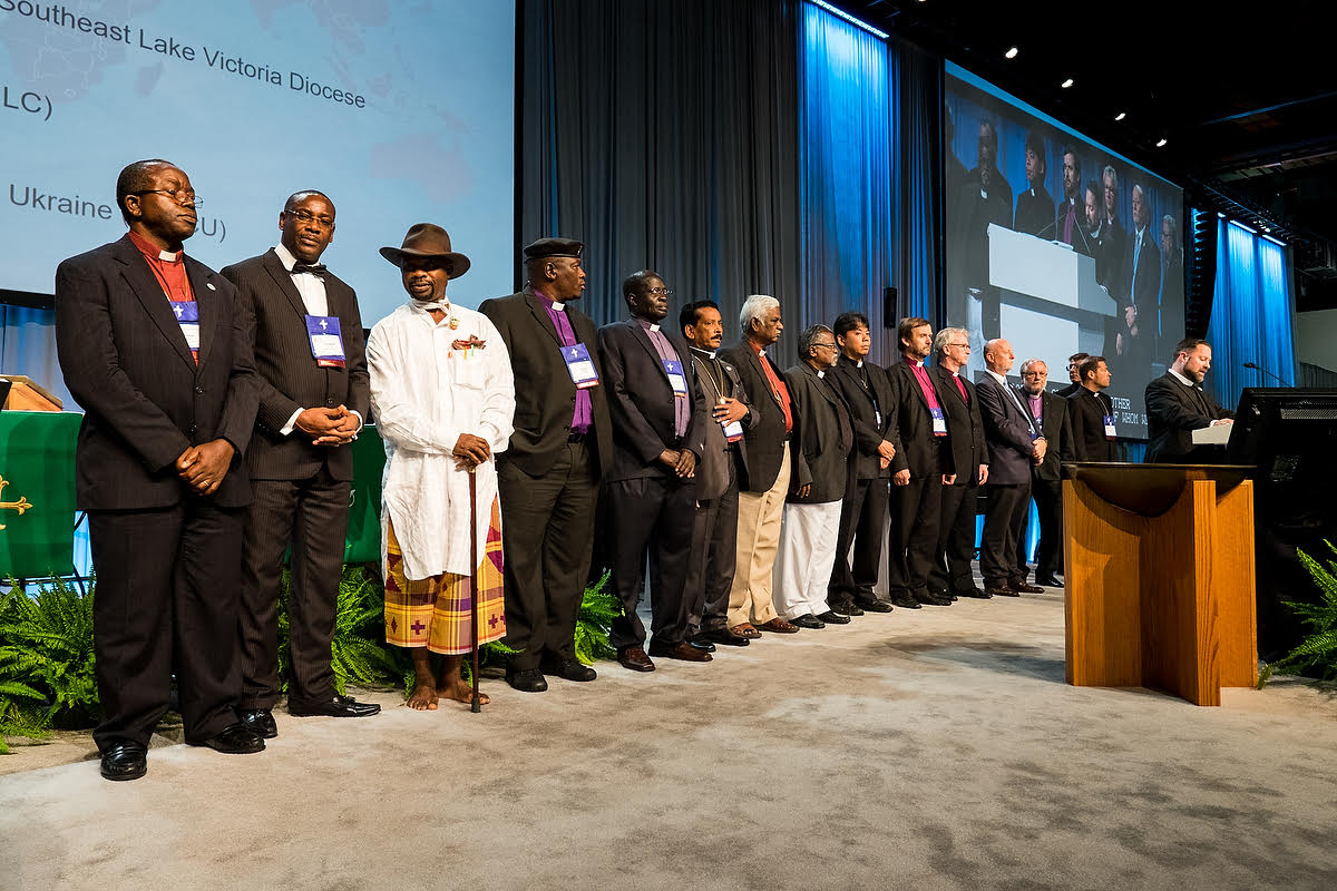 Convention recognizes international guests, growth of LCMS ...