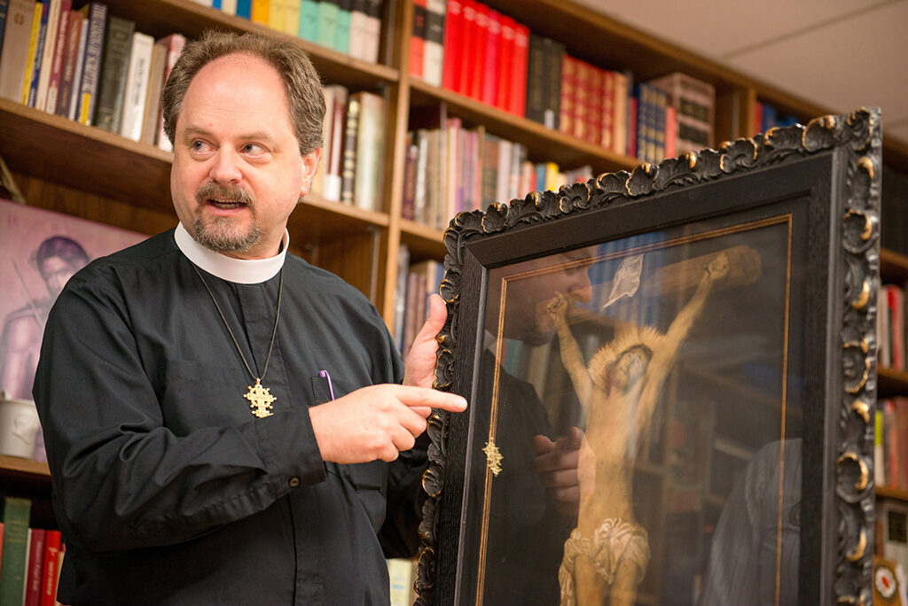 The Rev. Dr. Dan Harmelink is the executive director of the Concordia Historical Institute in St. Louis. CHI is the official Department of Archives and History of the LCMS, and it holds more than 2.5 million documents and 7,500 artifacts tracing Lutheran history in the United States and the world. (LCMS Communications/Erik M. Lunsford