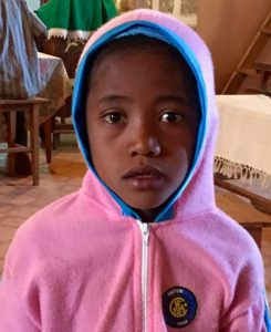 In Madagascar, pink is for both boys and girls.  This young boy had surgery to remove a tumor at no cost to the family.