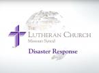 Disaster Response Video Update