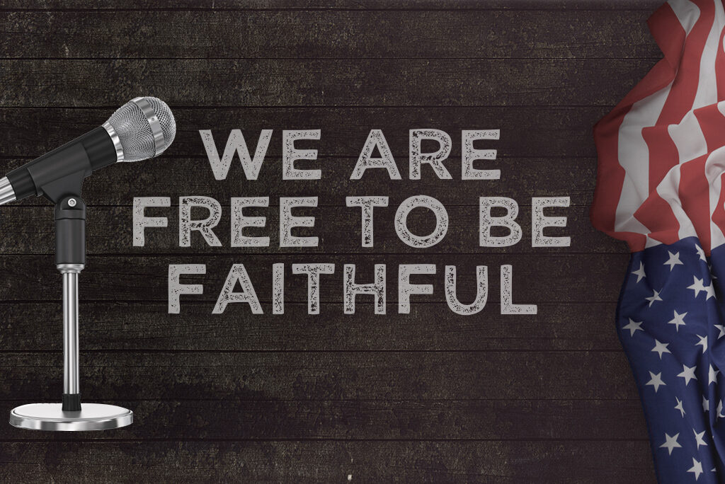 We are Free to be Faithful - KFUO Interview