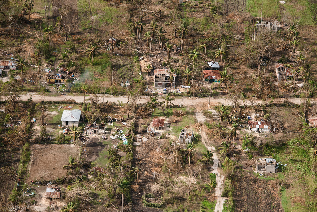 Many homes on Haiti's southern peninsula are without roofs while others are in shambles in the wake of Hurricane Matthew. LCMS Disaster Response is working to provide tin roofs for some 50 area pastors and possibly 50 churches without roofs in Haiti.