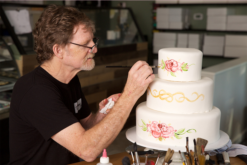 Jack Phillips Wedding Cake